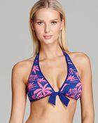Tommy Bahama Sugar Shack Reversible Halter Bikini Top - Lyst