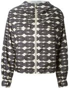 Moncler Gamme Rouge 'Charline' Hooded Jacket - Lyst
