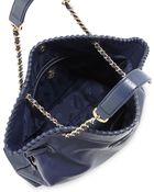 Tory Burch Marion Slouchy Drawstring Tote Bag - Lyst
