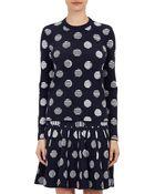 Kenzo Dots & Stripe Sweater - Lyst