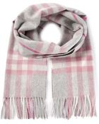 Burberry Heritage Check Scarf - Lyst