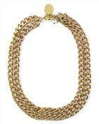 Jaeger Pearl And Coin Chain Necklace - Lyst