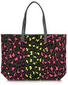 Christopher Kane Leopard-Print Canvas Tote - Lyst