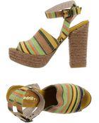 Espadrilles Sandals - Lyst