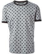 Dolce & Gabbana Polka-Dot T-Shirt - Lyst