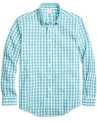 Brooks Brothers Non-Iron Madison Fit Large Gingham Sport Shirt - Lyst