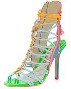 Sophia Webster Lacey Strappy High-Heel Sandal - Lyst