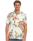 Tommy Bahama Island Modern Fit Floral Persuasion Ss Camp Shirt - Lyst