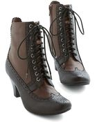 Jeffrey Campbell Fete-Laced Bootie - Lyst