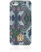 Tory Burch Kerrington Hardshell Case For Iphone 5 - Lyst