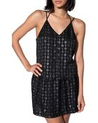 Charles Henry Foil Print Cami - Lyst