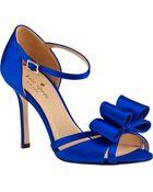 Kate Spade Ivela Evening Sandal Cobalt Satin - Lyst
