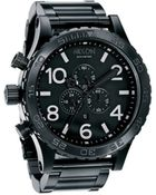 Nixon All Black Chrono 51-30 Watch - Lyst
