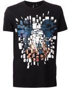 Neil Barrett Mickey Mouse Print T-Shirt - Lyst