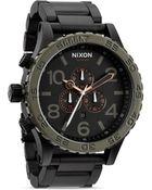 Nixon The 51-30 Chrono Watch, 51Mm - Lyst