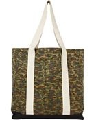 River Island Green Camouflage Shopper - Lyst