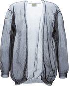 Forte Forte Fine Knit Sheer Cardigan - Lyst