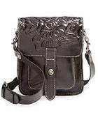Patricia Nash 'Lari' Tooled Leather Crossbody Bag - Lyst