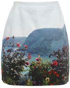 Paul by Paul Smith Landscape Mini Skirt - Lyst