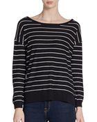 Joie Emele Striped Sweater - Lyst
