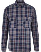 River Island Grey Jack & Jones Vintage Check Shirt - Lyst
