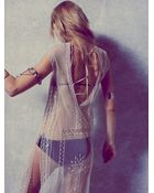 Free People Womens Caroline'S Limited Edition White Dress - Lyst