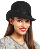 Nine West Felt Downtown Cloche with Bow - Lyst