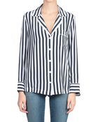 Equipment Silk Lillian Pajama Shirt - Lyst