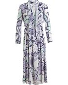 Burberry Prorsum Floral Print Layered Dress - Lyst