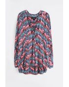 Zadig & Voltaire Tunic Tine Print Deluxe - Lyst