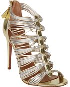 Aquazzura Xena Strappy Sandals - Lyst