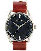 Nixon Mellor Watch with Brown Leather Strap A129 - Lyst