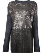 Avant Toi Sequinned Sweater - Lyst