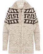 Etoile Isabel Marant Tawny Alpaca Wool Cardigan - Lyst