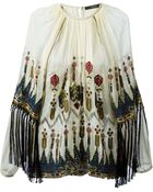 Etro Embroidered Top - Lyst