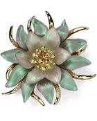 Alexis Bittar Lucite Encrusted Flower Pin - Lyst