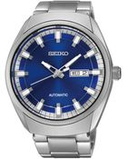 Seiko Mens Recraft Stainless Steel Automatic Bracelet Watch - Lyst