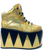 Y.r.u The Qozmopolitan Platform Shoe - Lyst