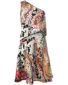 Etro Floral Print Dress - Lyst