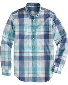 J.Crew Lightweight Shirt in Rhone River Gingham - Lyst