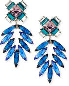 DANNIJO Simon Crystal Drop Earrings - Lyst