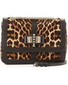 Christian Louboutin Sweet Charity Small Calf Hair Shoulder Bag - Lyst