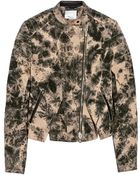 3.1 Phillip Lim Printed Denim Jacket - Lyst