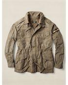 Ralph Lauren Rawlins Military Jacket - Lyst