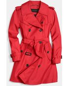 Coach Mid-Length Trench - Lyst