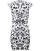 Alexander McQueen Tulip Knit Dress - Lyst