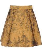 Alice + Olivia Mini Skirt - Lyst