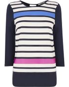 Oasis Engineered Stripe Woven Front - Lyst