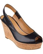 Nine West Cantalope Wedge Sandals - Lyst