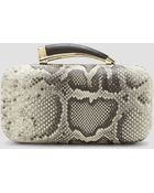 Vince Camuto Clutch Horn Python Embossed - Lyst
